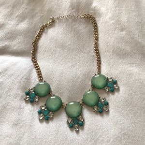 NWOT Francescas Blue Statement Necklace